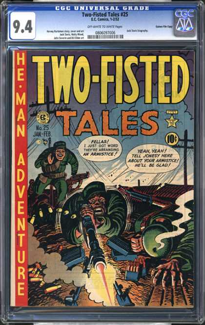 CGC Graded Comics - Two-Fisted Tales #25 (CGC)