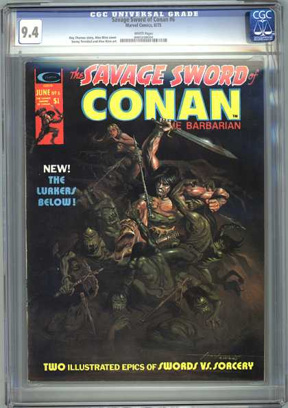 CGC Graded Comics - Savage Sword of Conan #6 (CGC)