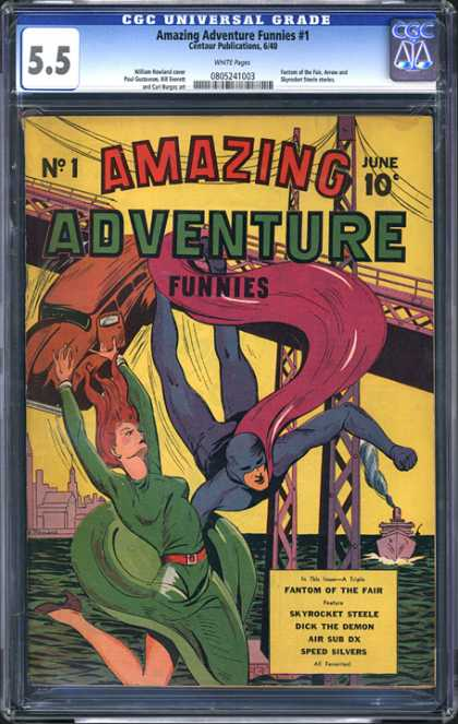 CGC Graded Comics - Amazing Adventure Funnies #1 (CGC)