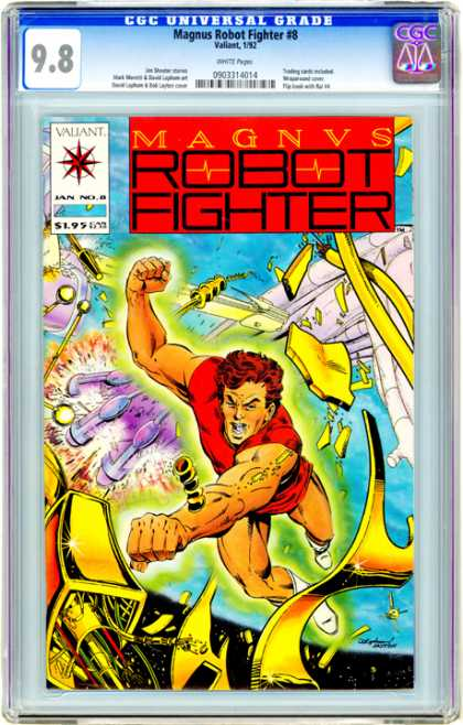 CGC Graded Comics - Magnus Robot Fighter #8 (CGC)