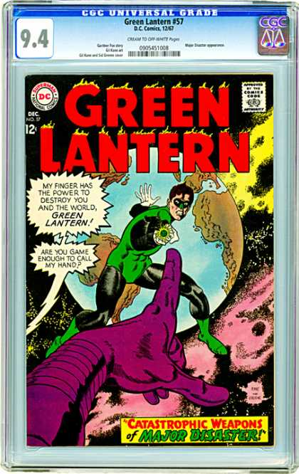 CGC Graded Comics - Green Lantern #57 (CGC)