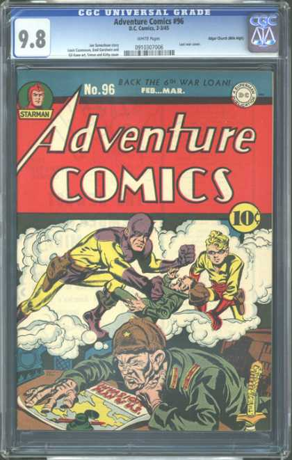 CGC Graded Comics - Adventure Comics #96 (CGC)