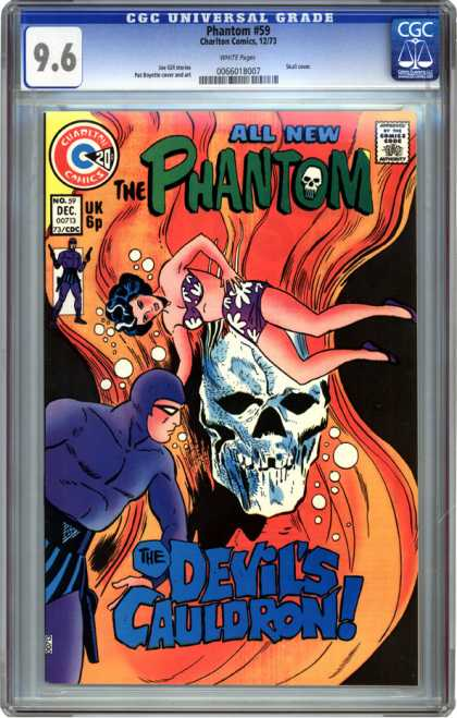 CGC Graded Comics - Phantom #59 (CGC) - The Phantom - Skull - Women - Man - Uk 6p