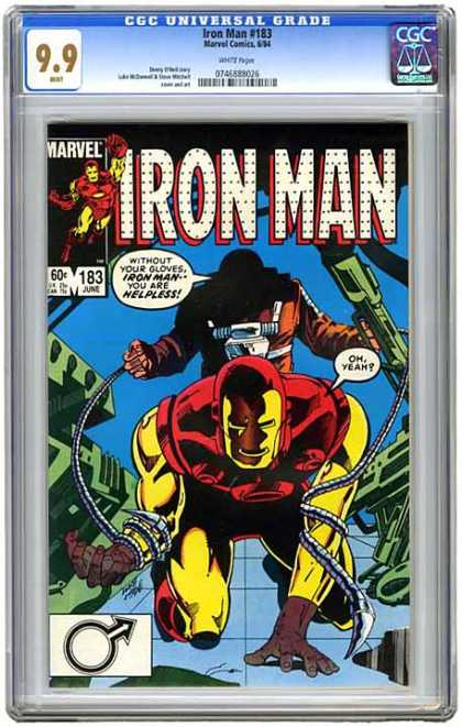 CGC Graded Comics - Iron Man #183 (CGC)
