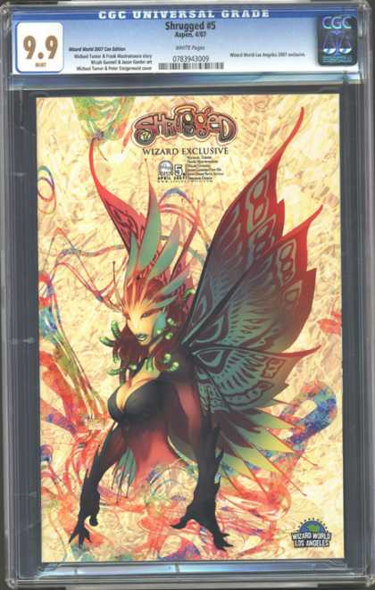 CGC Graded Comics - Shrugged #5 (CGC)