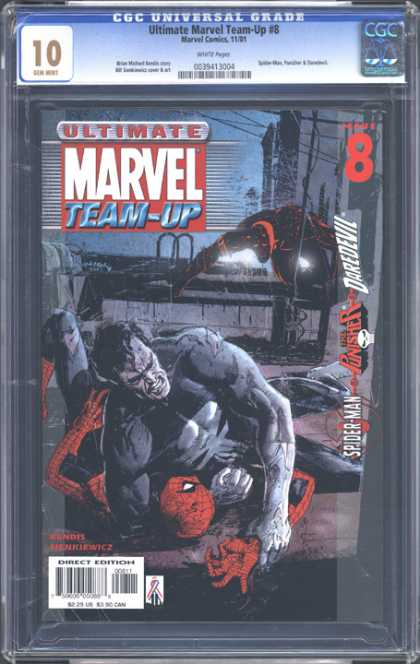 CGC Graded Comics - Ultimate Marvel Team-Up #8 (CGC)