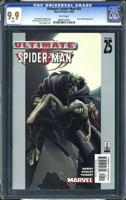 CGC Graded Comics - Ultimate Spider-Man #25 (CGC)