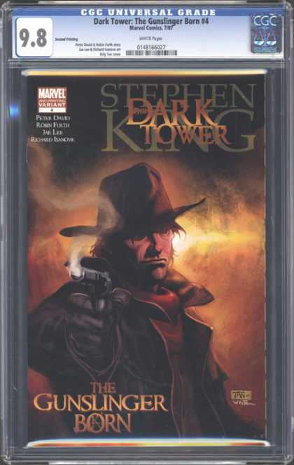CGC Graded Comics - Dark Tower: The Gunslinger Born #4 (CGC) - Stephen King - The Dark Tower - The Gunslinger Born - Marvel - The Gunslinger Born 4