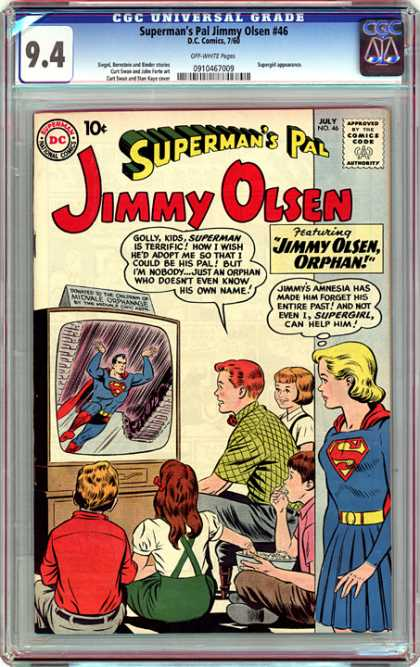 CGC Graded Comics - Superman's Pal Jimmy Olsen #46 (CGC)