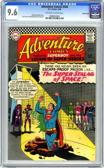 CGC Graded Comics - Adventure Comics #344 (CGC)