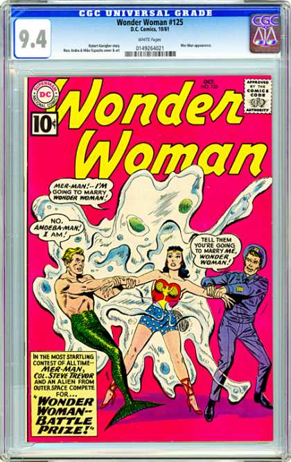 CGC Graded Comics - Wonder Woman #125 (CGC)