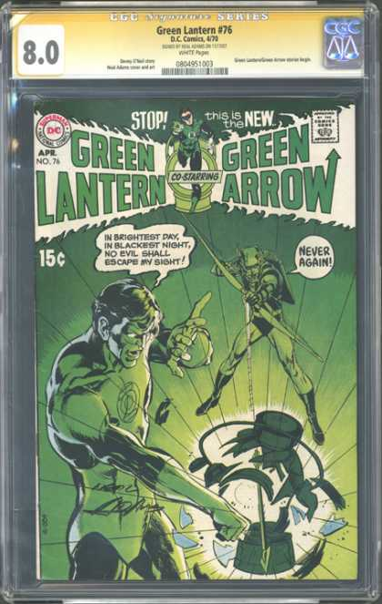 CGC Graded Comics - Green Lantern #76 (CGC)