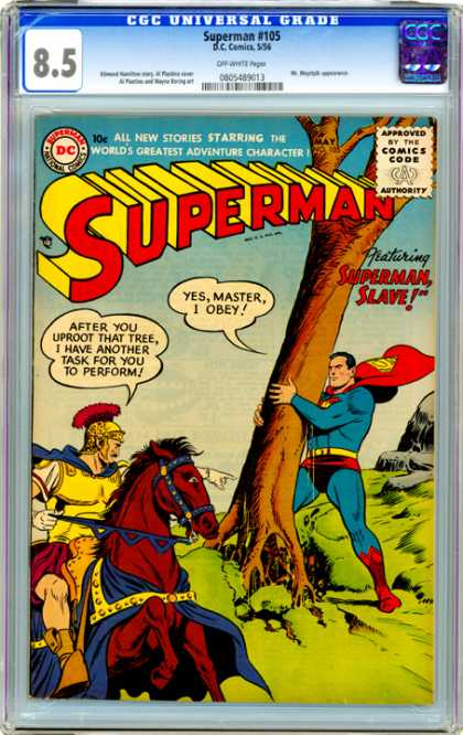 CGC Graded Comics - Superman #105 (CGC)