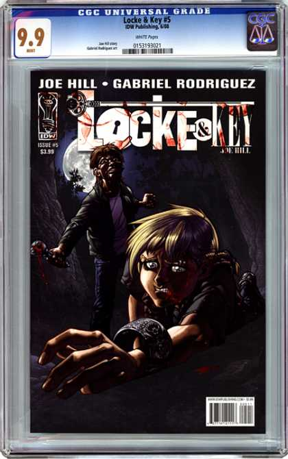 CGC Graded Comics - Locke & Key #5 (CGC) - Locke And Key - Bracelet - Child - Full Moon - Dark