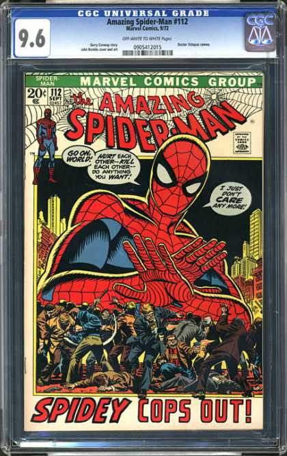 CGC Graded Comics - Amazing Spider-Man #112 (CGC)