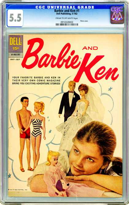 CGC Graded Comics - Barbie and Ken #1 (CGC) - Barbie And Ken - Wedding Doll Fashion Wear - Dreaming Girl - Doll Swim Suits - Barbie Stories
