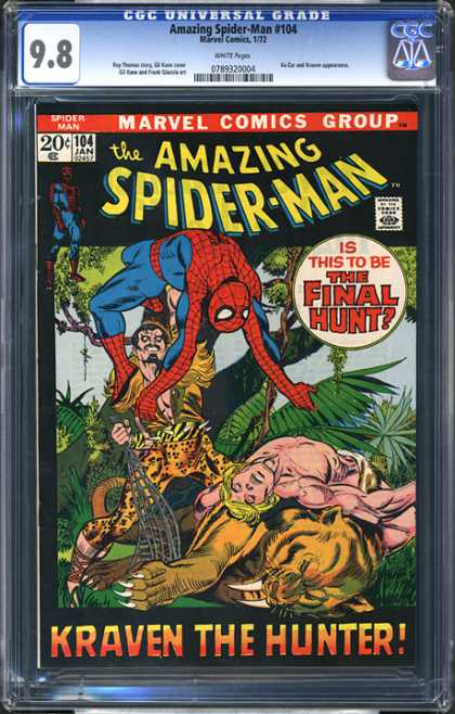 CGC Graded Comics - Amazing Spider-Man #104 (CGC)