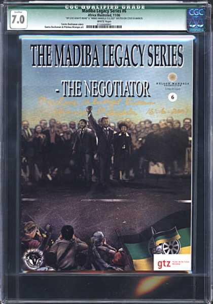 CGC Graded Comics - Madiba Legacy Series #6 (CGC)