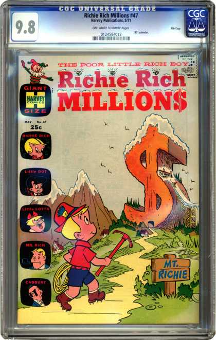 CGC Graded Comics - Richie Rich Millions #47 (CGC)