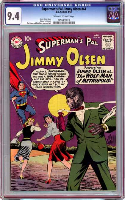 CGC Graded Comics - Superman's Pal Jimmy Olsen #44 (CGC)