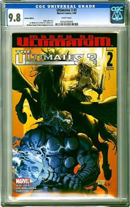 CGC Graded Comics - Ultimates 3 #2 (CGC) - The Ultimates 3 - Issue 2 - Blade - Knife - Blonde