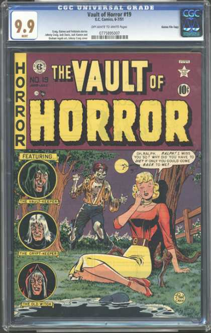 CGC Graded Comics - Vault of Horror #19 (CGC)