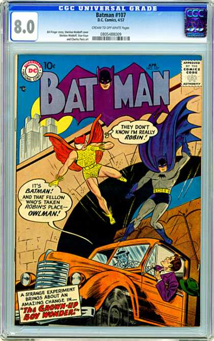 CGC Graded Comics - Batman #107 (CGC)