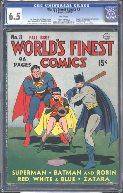 CGC Graded Comics - World's Finest Comics #3 (CGC)