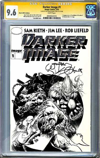 CGC Graded Comics - Darker Image #1 (CGC) - Darker Image - Sam Kieth - Jim Lee - Rob Liefeld - Superhero