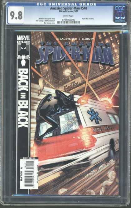 CGC Graded Comics - Amazing Spider-Man #540 (CGC)