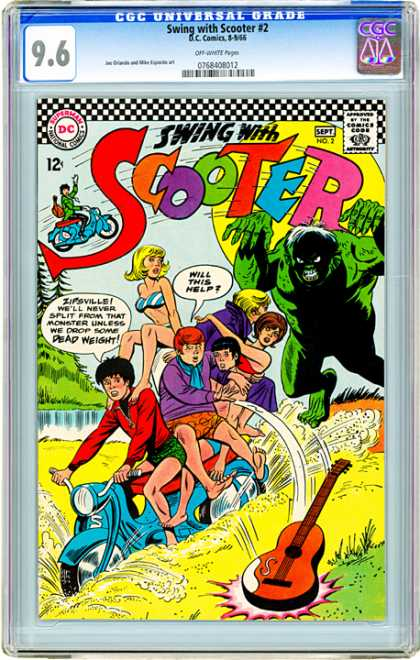 CGC Graded Comics - Swing with Scooter #2 (CGC)