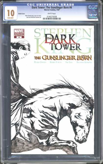 CGC Graded Comics - Dark Tower: The Gunslinger Born #4 (CGC)