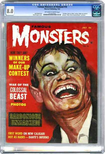 CGC Graded Comics - Famous Monsters of Filmland #15 (CGC)
