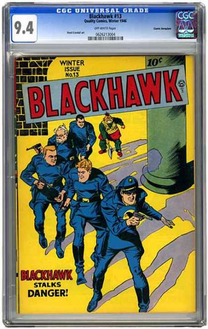 CGC Graded Comics - Blackhawk #13 (CGC)