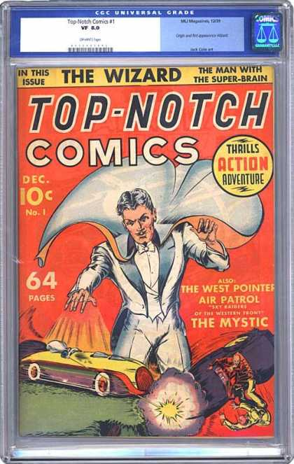 CGC Graded Comics - Top-Notch Comics #1 (CGC)