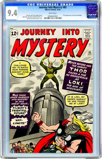 CGC Graded Comics - Journey Into Mystery #85 (CGC)