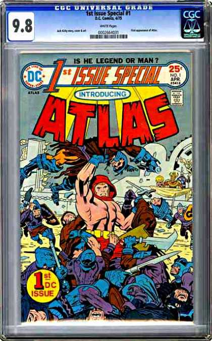 CGC Graded Comics - 1st Issue Special #1 (CGC) - Atlas - Action - Myth - Dc - Special Issue