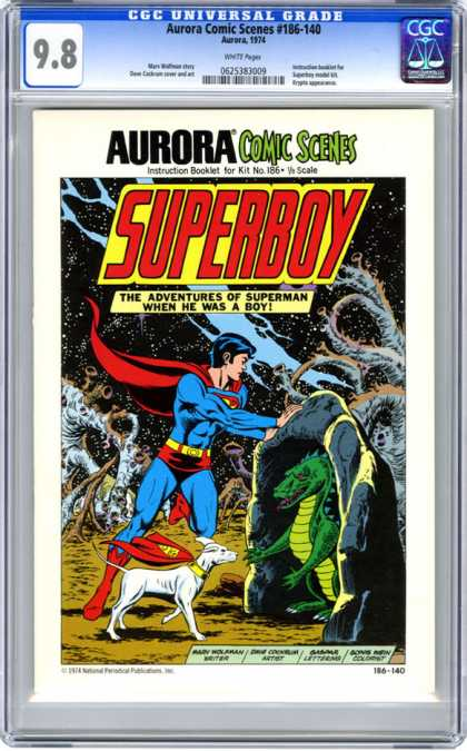 CGC Graded Comics - Aurora Comic Scenes #186-140 (CGC)