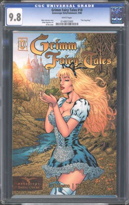 CGC Graded Comics - Grimm Fairy Tales #10 (CGC)