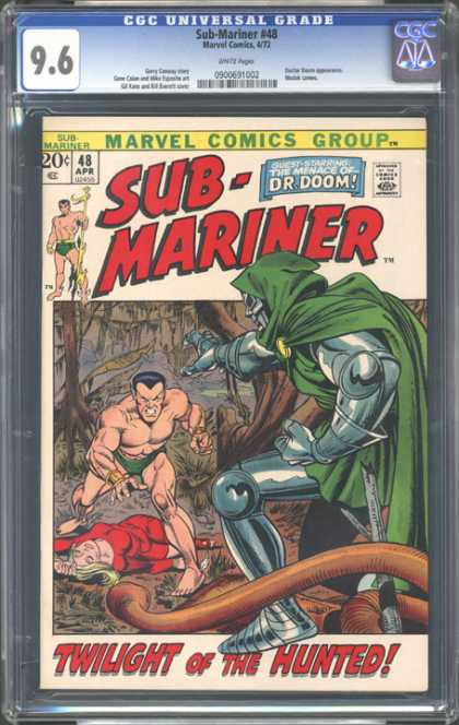 CGC Graded Comics - Sub-Mariner #48 (CGC) - Sub-mariner - Marvel - Doom - Twilight Of The Hunted - April 1948