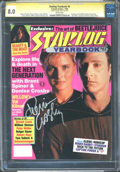 CGC Graded Comics - Starlog Yearbook #3 (CGC)