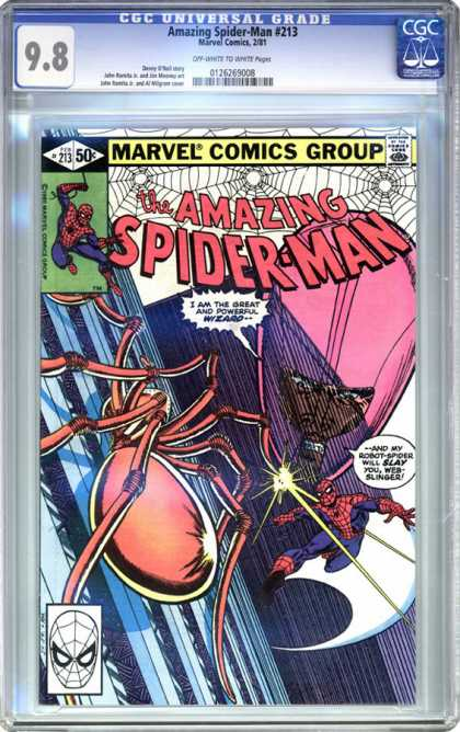 CGC Graded Comics - Amazing Spider-Man #213 (CGC)