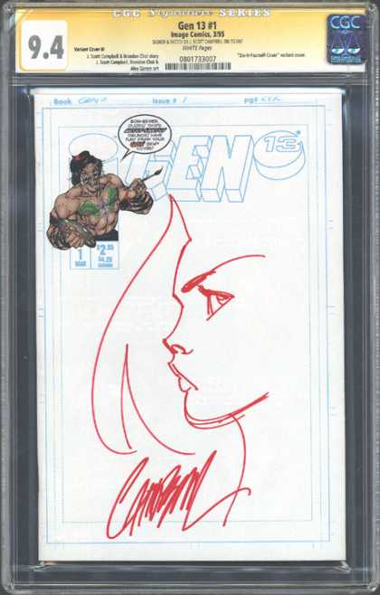CGC Graded Comics - Gen 13 #1 (CGC)