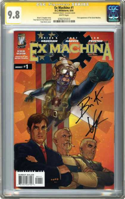 CGC Graded Comics - Ex Machina #1 (CGC)