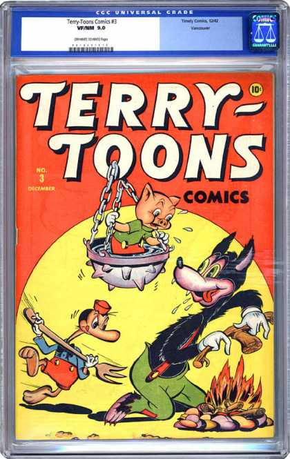 CGC Graded Comics - Terry-Toons Comics #3 (CGC)