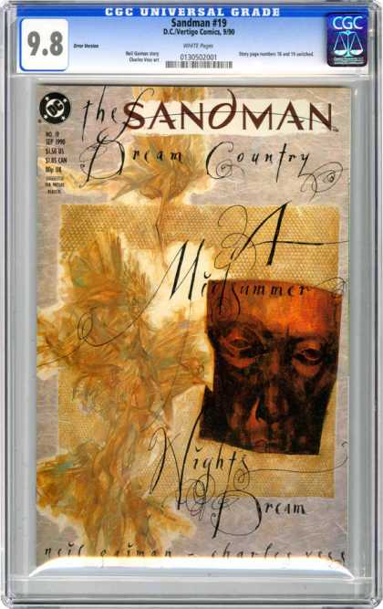 CGC Graded Comics - Sandman #19 (CGC) - Night - Dream - Sleep - Sand - Man