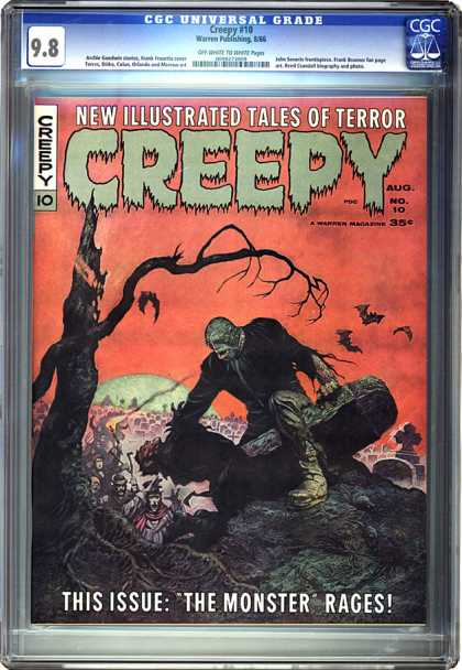 CGC Graded Comics - Creepy #10 (CGC)