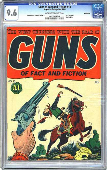 CGC Graded Comics - Guns of Fact and Fiction #13 (CGC)