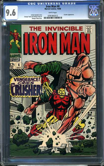 CGC Graded Comics - Iron Man #6 (CGC)