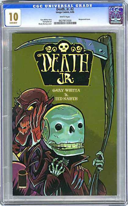 CGC Graded Comics - Death, Jr #2 (CGC)